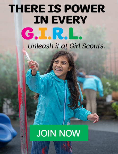 Join Girl Scouts today