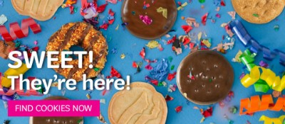 Girl Scout cookie season begins January 13th!