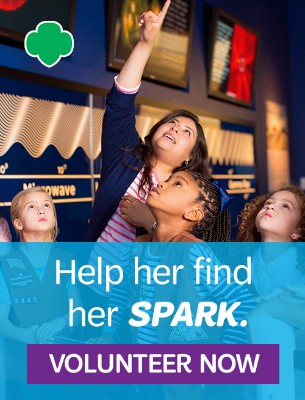 Be a Girl Scout volunteer today